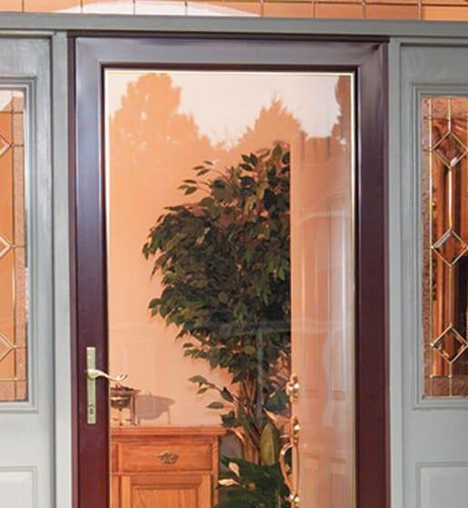 ... Retractable Screen Decorating Larson Retractable Screen Door Reviews : Larson  Storm Doors | Burr Ridge, ILLarson Storm ...