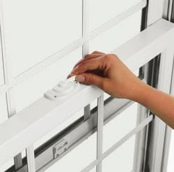Releasing lock lever