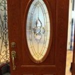 Albany Door Model 301 Nouveau glass