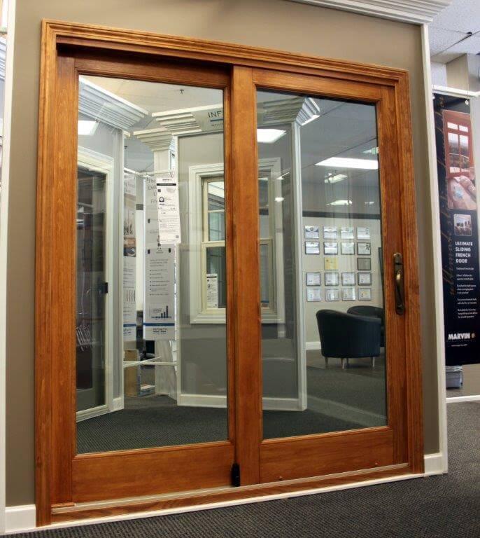 Arlington heights showroom galleries next door and window for Marvin integrity storm doors