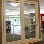 Integrity In Swing French Door interior