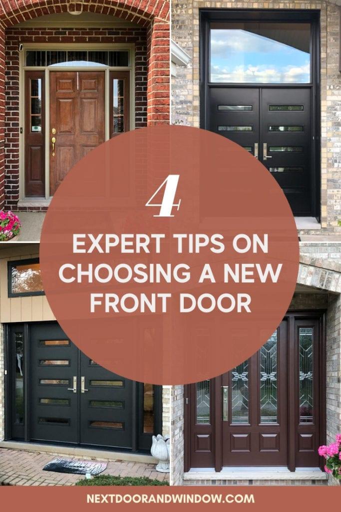 4 Expert Tips on Choosing a New Front Door