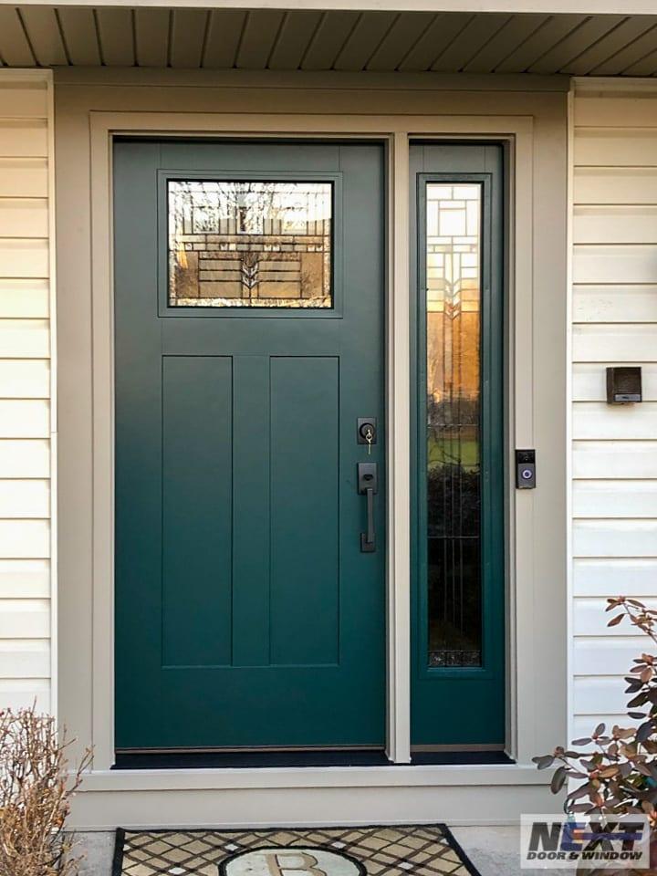 Front door installation from NEXT Door & Window