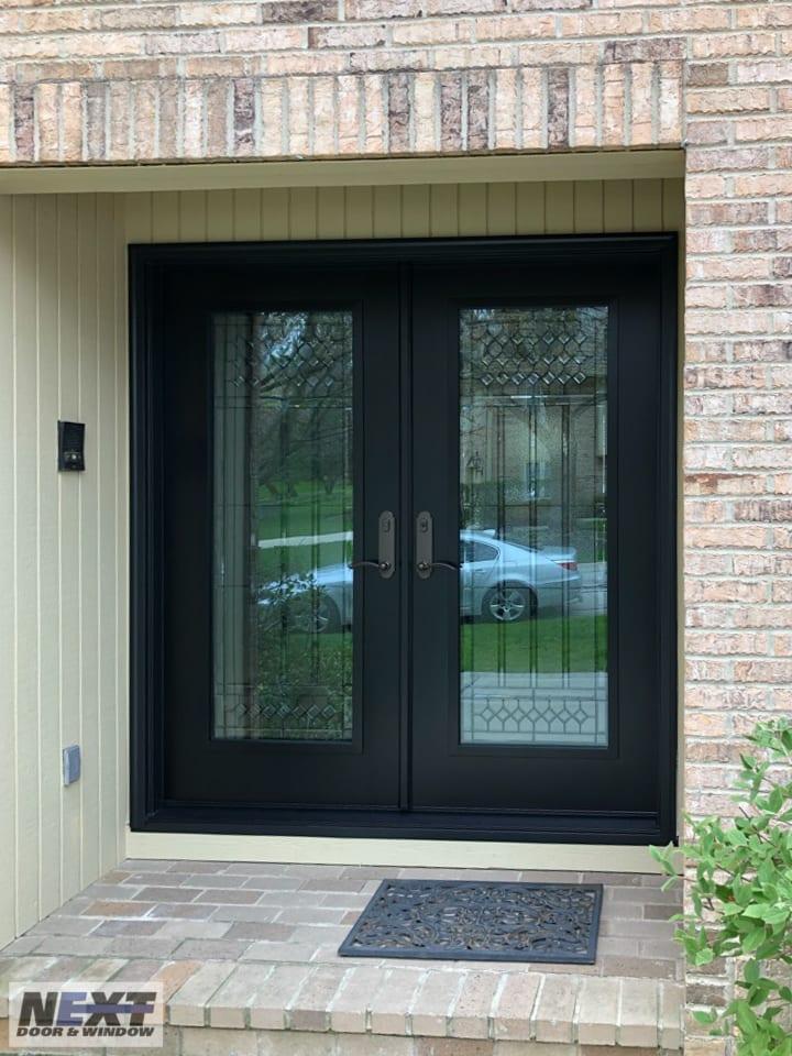 custom front door installation