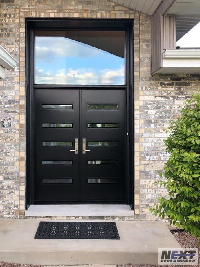 custom front door installation in Illinois
