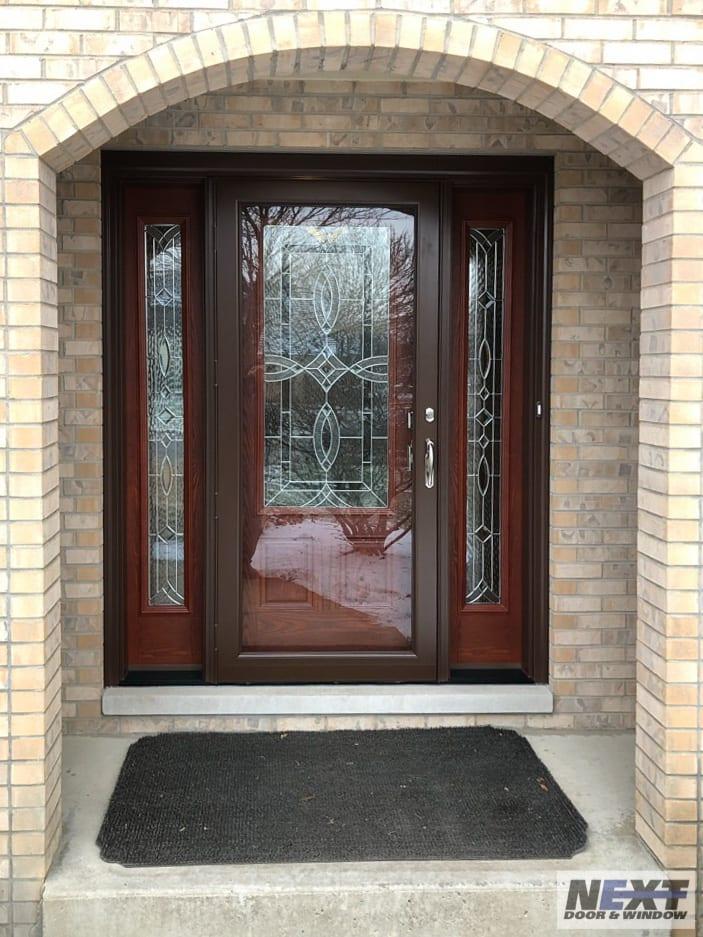 NEXT Door & Window front door installation